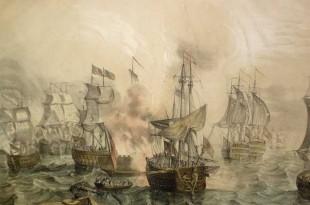 Batalla de Tolón o Sicié en 1744
