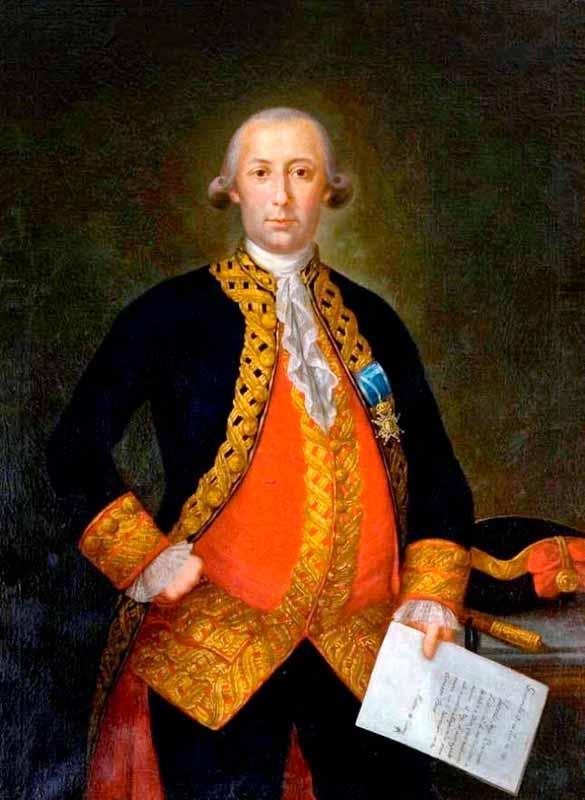 Retrato del General Bernardo de Gálvez