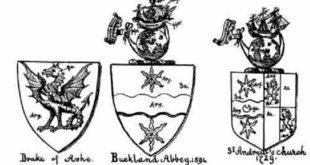 Blasón de Francis Drake