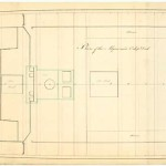 Plano de la bodega del navío Algeciras
