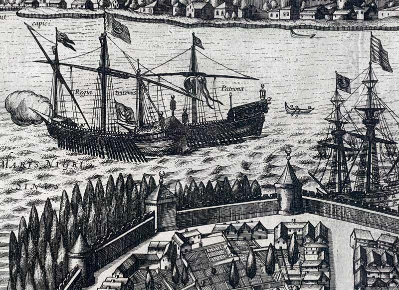 bombardeo de Constantinopla