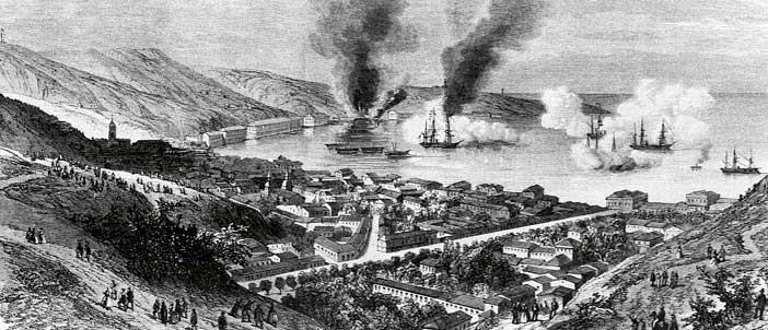 Bombardeo de Valparaíso