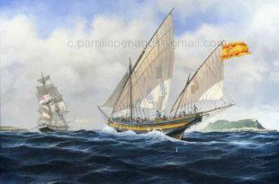 Buque corsario español