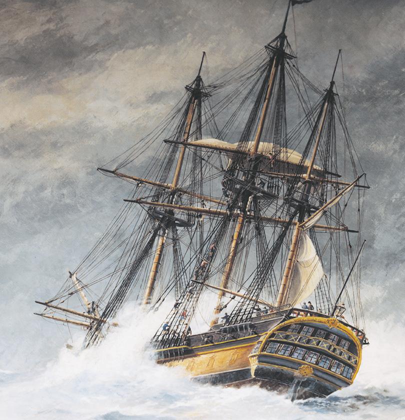 El buque Götheborg varado