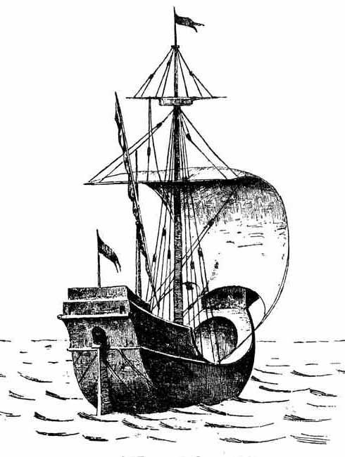 Buque mercante del siglo XIII
