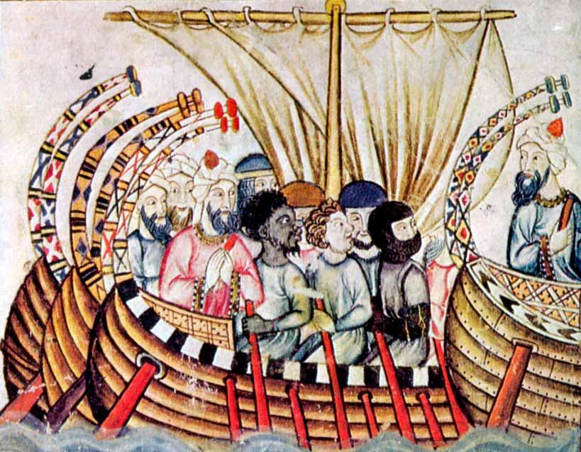 Embarcación medieval de los moros peninsulares.
