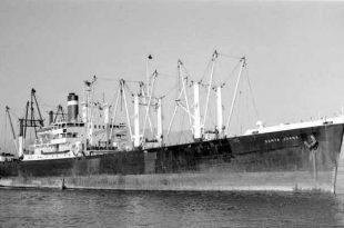 El buque Santa Juana, luego rebautizado como Silver Star