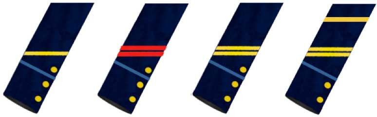 Insignias de cabos de mar de la marina francesa