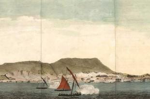 Cañoneras españolas durante el asedio de Gibraltar 1779-1782