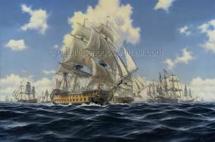 Captura de mercantes de 1780 por parte de la escuadra española