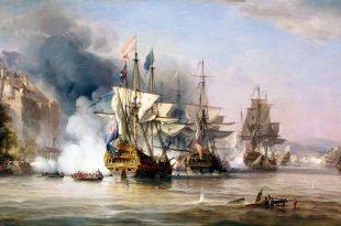 Captura de Portobello el 21 de noviembre de 1739