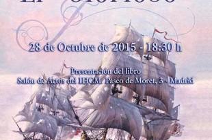 """Cartel de presentación del libro """"El Glorioso"""""""