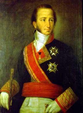 Retrato del marino español Cayetano Valdés