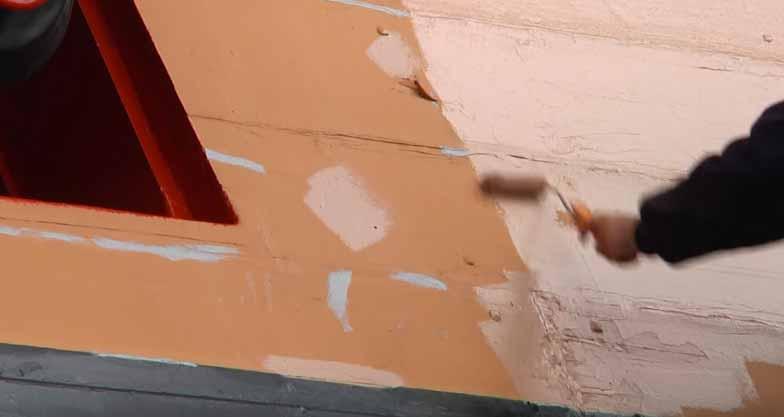 color del navío HMS Victory