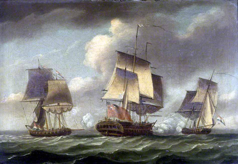 Combate contra corsarios