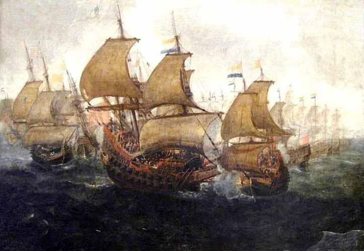 Combate naval Gibraltar, 1621