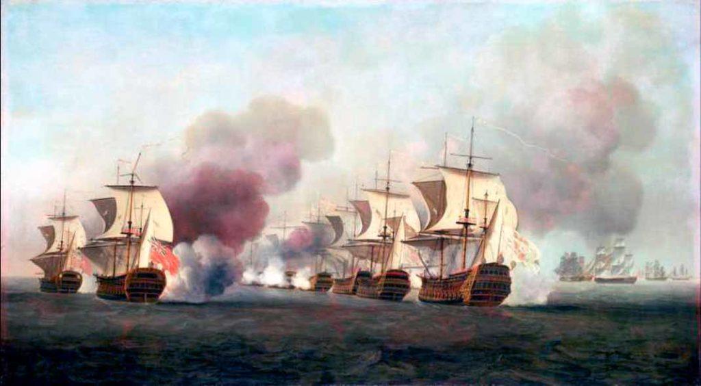 Combate naval  de octubre de 1748 en las cercanías de la Habana