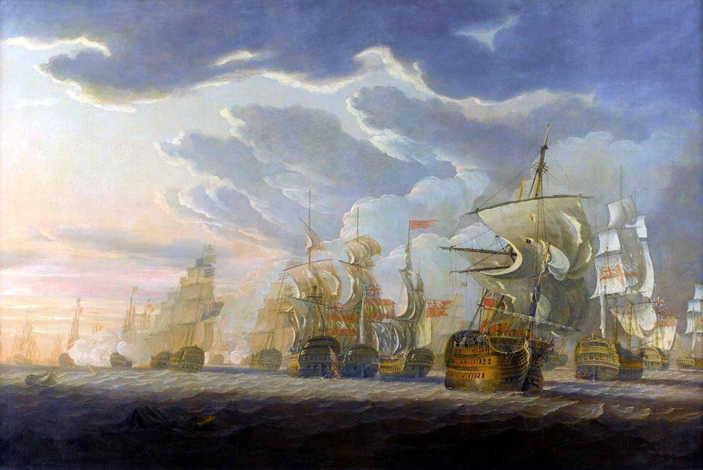 La batalla del cabo de San Vicente, 14 de febrero de 1797