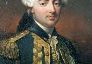 Retrato del conde de Estaing