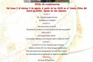 Ciclo de conferencias anual organizado por la Asociación Amigos del Museo de las Reales Fábricas de Artillería de Lierganes y La Cavada.