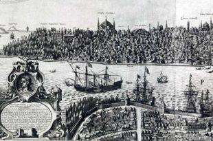 Constantinopla (Estambul) en 1616