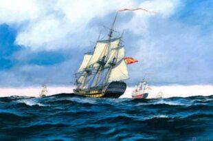 Una escuadra española del siglo XVIII