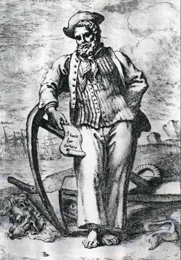 Marinero británico de 1737