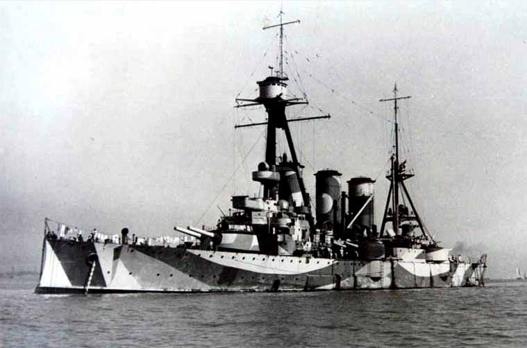 Crucero Georgios Averof en 1942