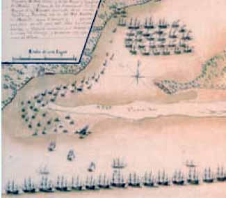 Cuarto movimiento del ataque a Pensacola en 1781