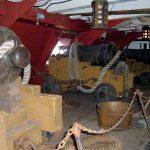 Cubierta de artillería de la fragata HMS Surprise