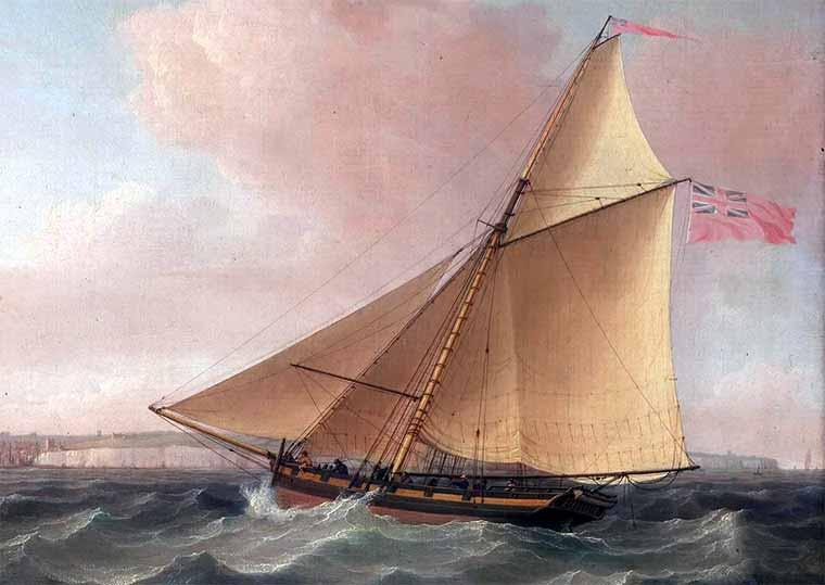 Cutter británico similar al HMS George