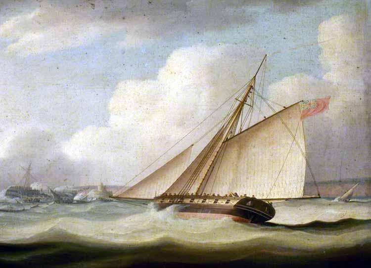 Cutter británico similar al apresado HMS Penelope