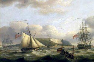 Cutter de la marina británica similar al apresado HMS William Pitt