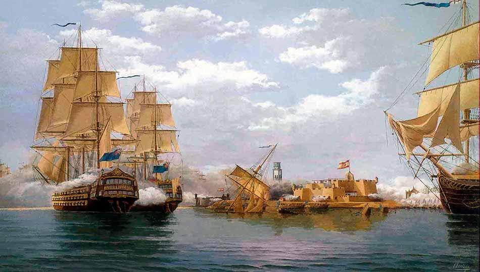 Los británicos son derrotados en Tenerife.