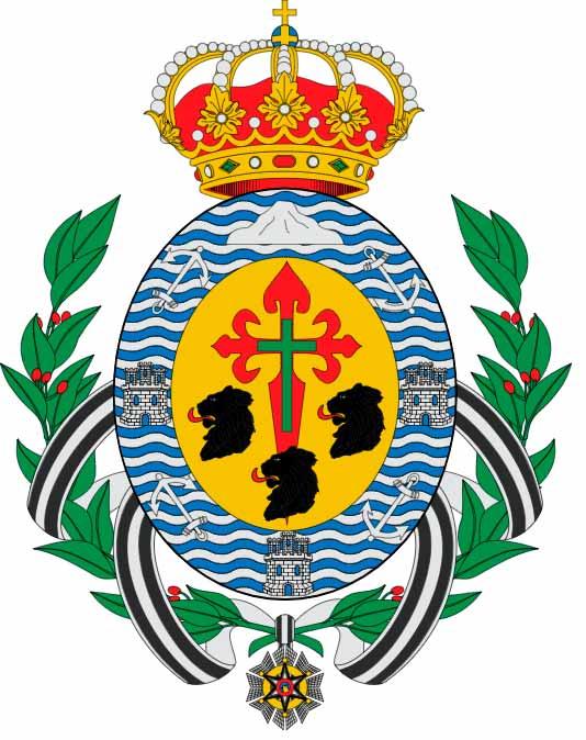 Escudo de la ciudad de Santa Cruz de Tenerife