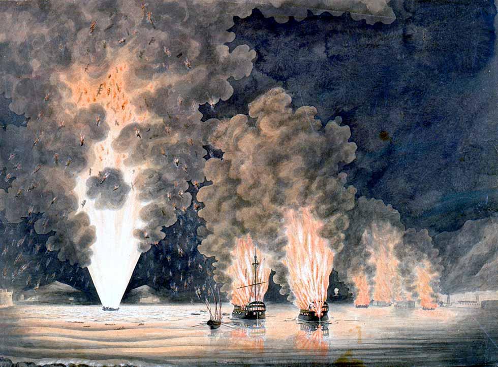 Evacuación de Tolón, 1793.