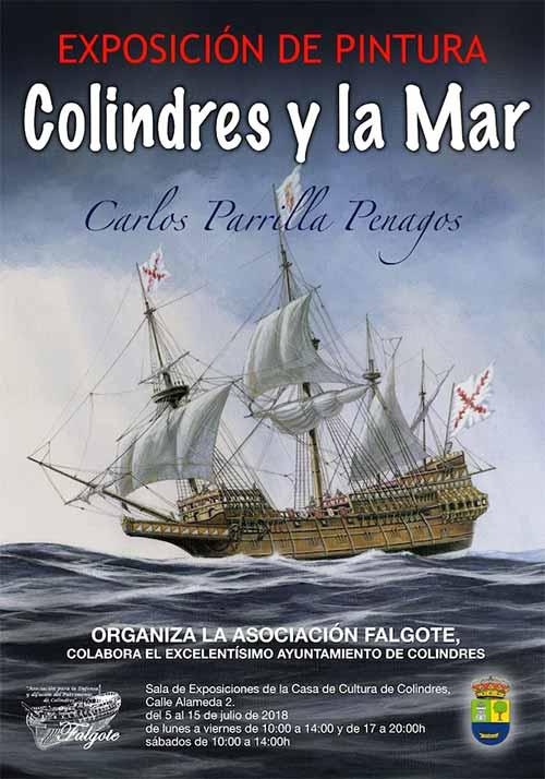 Exposición de Carlos Parrilla: Colindres y la Mar