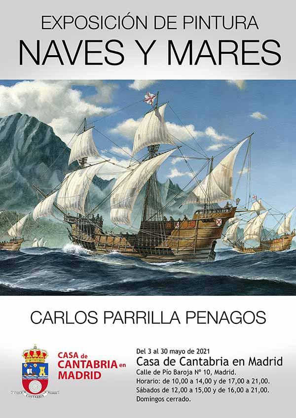 """Exposición de Carlos Parrilla: """"Naves y mares"""""""
