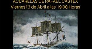 Exposición de acuarelas de Rafael Castex