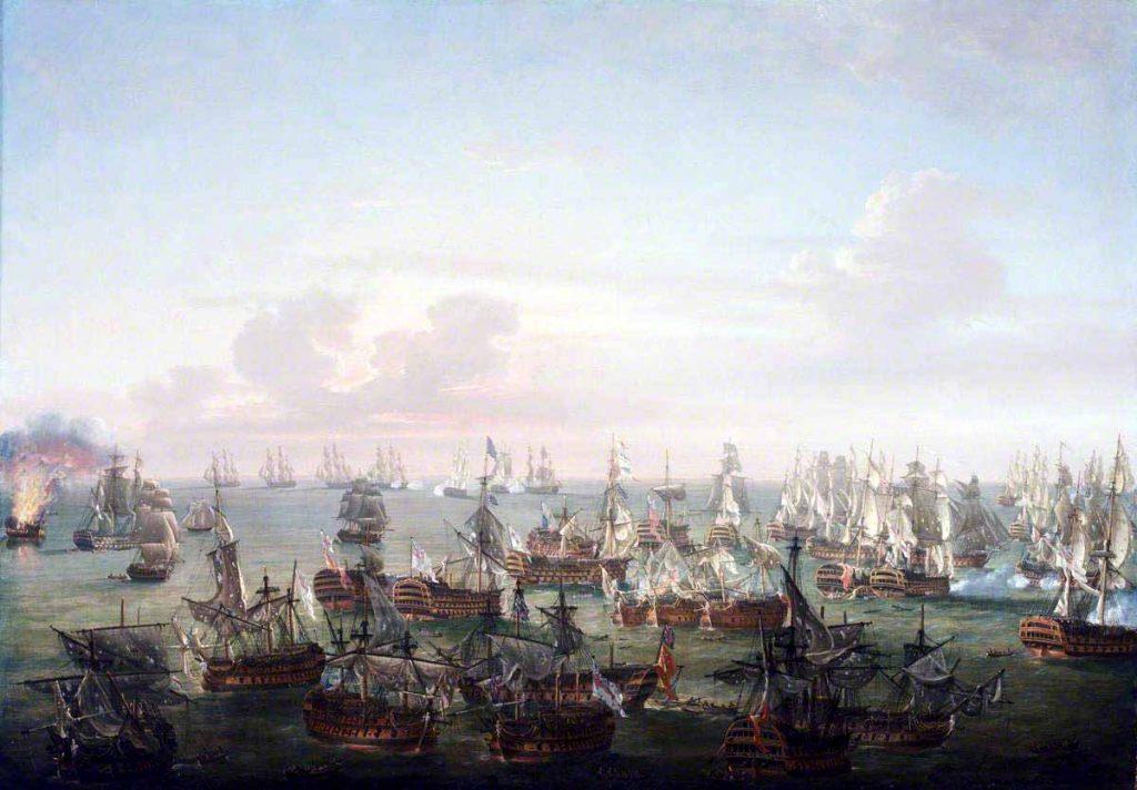 La batalla de Trafalgar, 21 de octubre de 1805: final de la batalla.