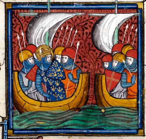 Flota medieval como la de Castilla