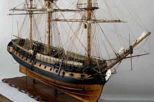 Fragata Diana. Modelo de arsenal del Museo Naval de Madrid.