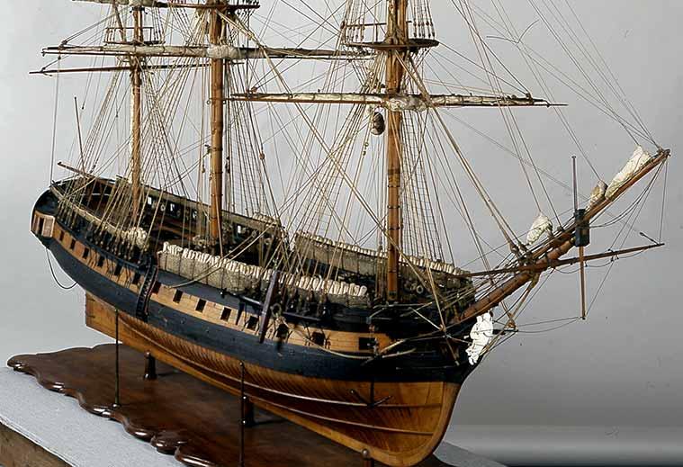 Museo Naval De Madrid.La Fragata Diana Del Museo Naval De Madrid Todo A Babor