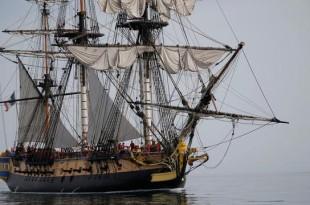Réplica de la fragata francesa Hermione