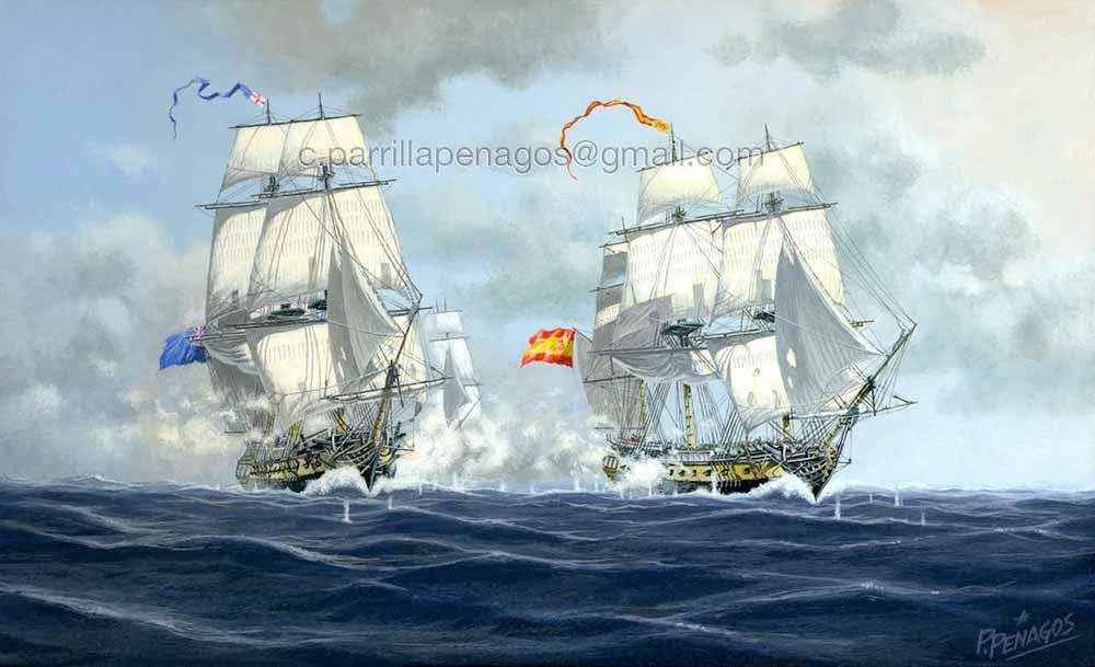 Fragata española Nuestra Señora de las Mercerdes