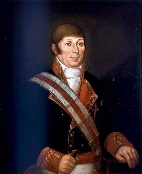 Retrato del marino Francisco Antonio Mourelle de la Rúa.