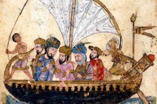 Galera musulmana de la Edad Media