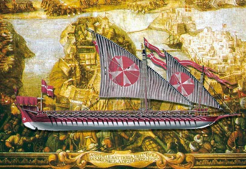Galera de la Orden de Malta