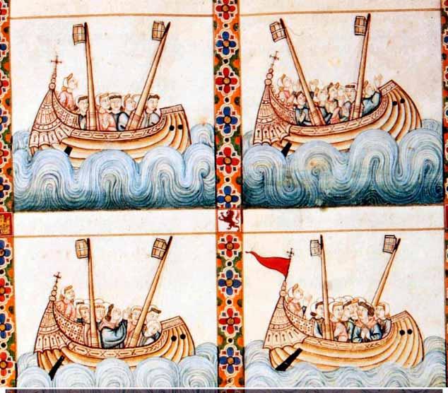 Galeras castellanas medievales