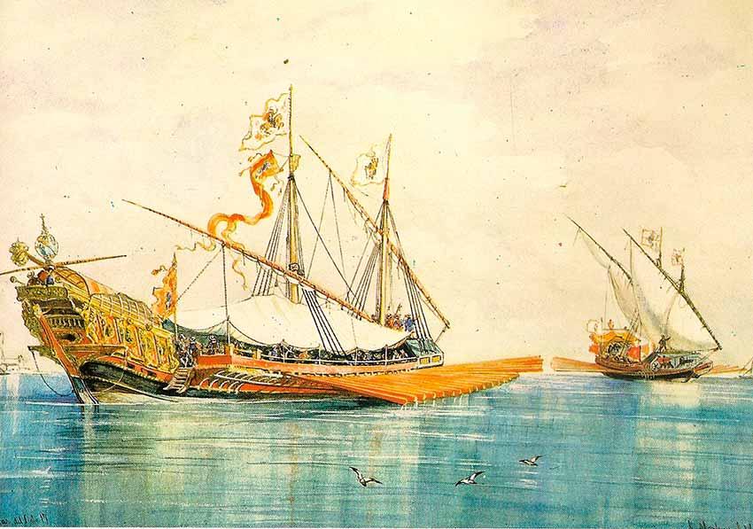 Galeras españolas del siglo XVII